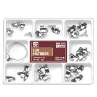 Kit de matrices dentaires en métal Lug (30 pièces) Img: 202107311