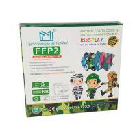 Masques Avec Design Camouflage FFP2 Pour Enfants  Img: 202107241