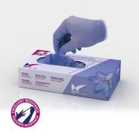 Gants en nitrile violet 100 unités Img: 201807031