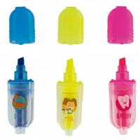 Surligneurs Fluorescents Mia, Dino & Baddy (50 unités) Img: 202003141
