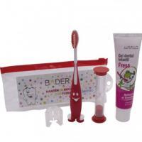 Kit : Brosse à dents, sablier et dentifrice Img: 202005231