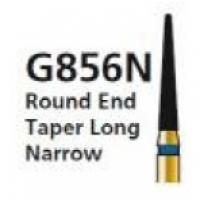 FRAISE DIAMANTÉE G856N TRONCONIQUE POINTE ARRONDIE F.G. (5u.) Img: 201807031