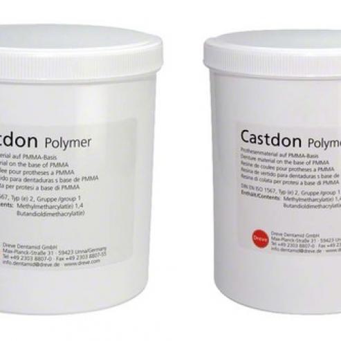 Polimero Castdon - Lattina 4 kg di polvere rosa trasparente Img: 202005021
