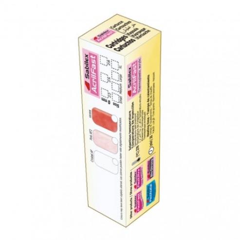 AcrilFast - Acrilico termoplastico di iniezione Sabilex Pink. Img: 201809011