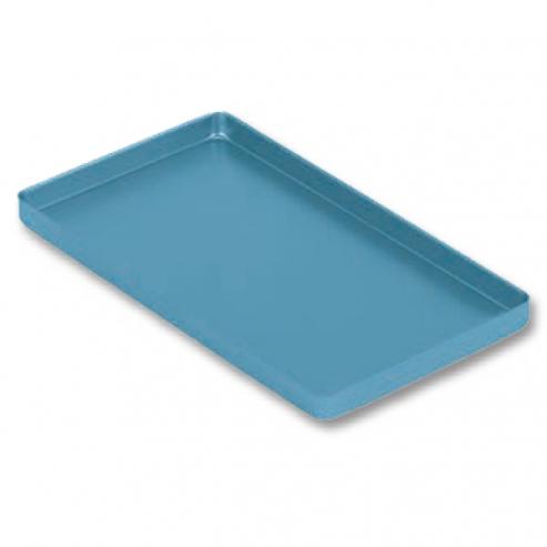 Mini Vassoio Alluminio blu (10x18cm) Img: 201809011