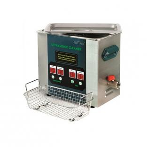 Bagno di pulizia ad ultrasuoni in acciaio inoss. (2,8 L) di Mestra Img: 202104171