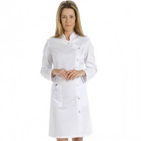 Camice da donna - Maniche lunghe (Bianco) Img: 202009121