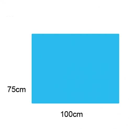 Sabanilla 70x100cm PP 28 g Celeste. Non sterili (250 unità) Img: 201807031