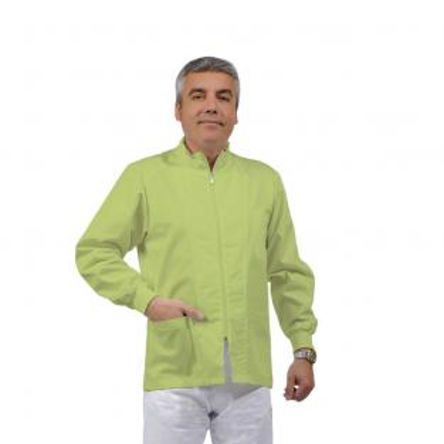 ERMES Casaca unisex a maniche corte in cotone (1u.) - Colore Green apple - taglia L Img: 201807031