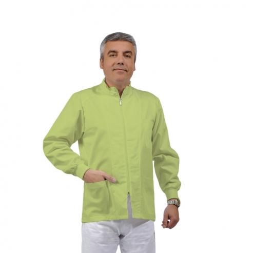 ERMES giacca unisex e cotone a maniche lunghe (1u.) - Colore Green apple - taglia L Img: 201807031