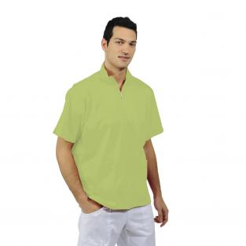 MERCURIO giacca unisex e cotone a maniche lunghe (1u.) - Colore Green apple - taglia L Img: 201807031