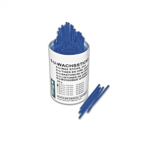 Cera da fusione extra-dura blu (250gr) - 3.0 mm lamelle blu 250 Img: 201907271