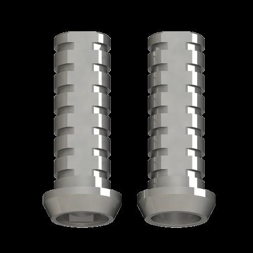 Protesi diretta provvisoria bicilindrica Protesi diretta Impianto collegamento esterno ampia piattaforma di connessione esterna - Non rotante - Impianti 5.0mm Img: 201907271