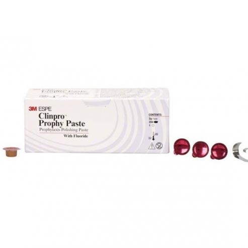 Clinpro: pasta profilattica per lucidatura (200 pz x 2g) - Ciliegia: Grana fine Img: 202011281
