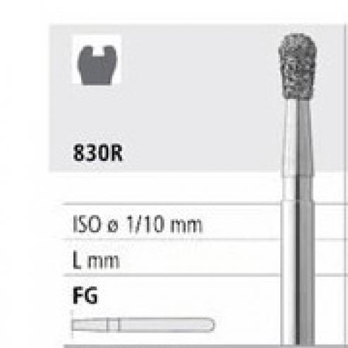Fresa 851-012 grano spesso diamante p / turbina FG (6u) Img: 201809011