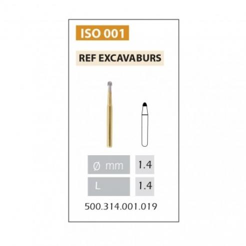 Fresa 152 Excavaburs per FG (5u) Img: 201809011