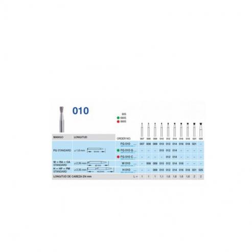 Fresa Diamantata PM Fig. 805 010-018 FIG.805 Img: 201809011