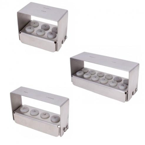 Portafrese in acciaio sterilizzabile (1u) Portafrese 4 fori Img: 201809011
