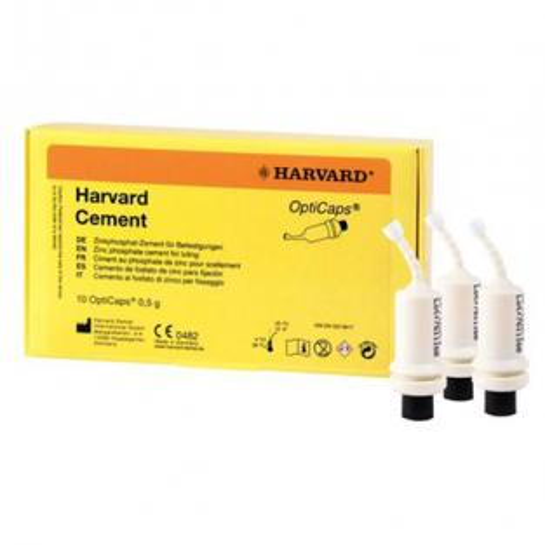 Harvard Opticaps® - Cemento giallo (10 pz.) Img: 202005021