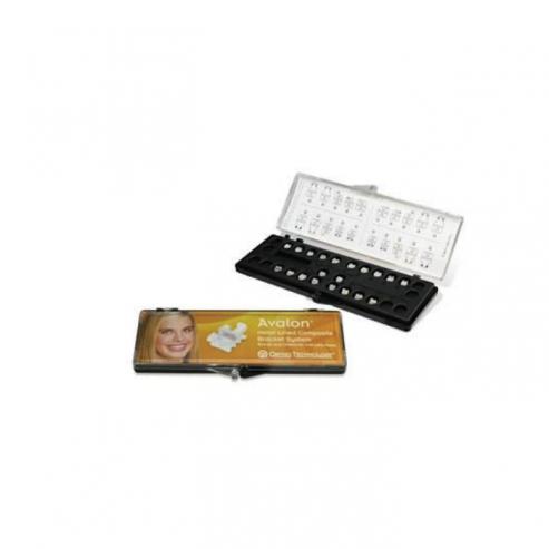 "Avalon™ Bracket Composito - Slot Metallico Roth .018"" 5a5 Gancio 3-4-5. Img: 201807031"