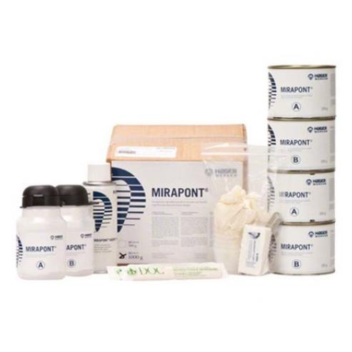 Mirapont® - Resina ad alta precisione - 250 gr barattolo A, 250 gr barattolo B Img: 202005021