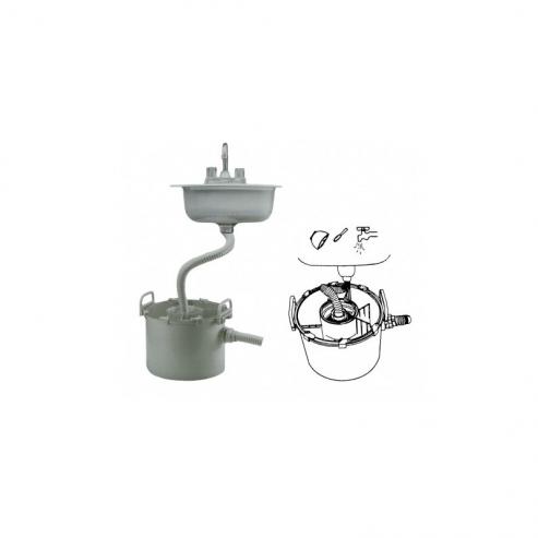 Decanter cilindrico 15L Img: 201903161