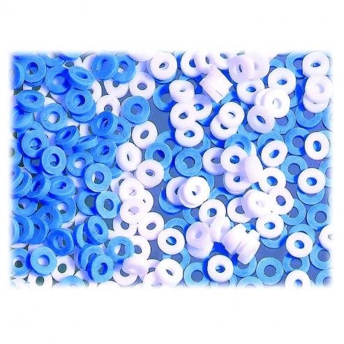 elastici separati Radiopaque Molares. 1000 unità Azul Img: 202103271