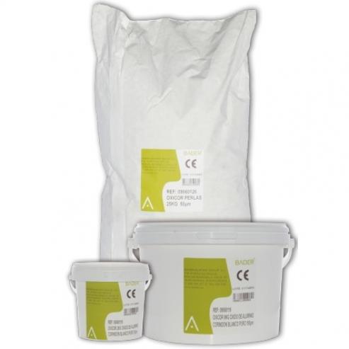 CORINDON Ossido di alluminio per sabbiatura 2kg / 50µm Img: 201809011