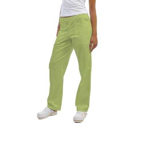 PLUTONE clinica pantaloni di cotone unisex (1u.) - Colore Green apple - Taglia 40 Img: 201807031