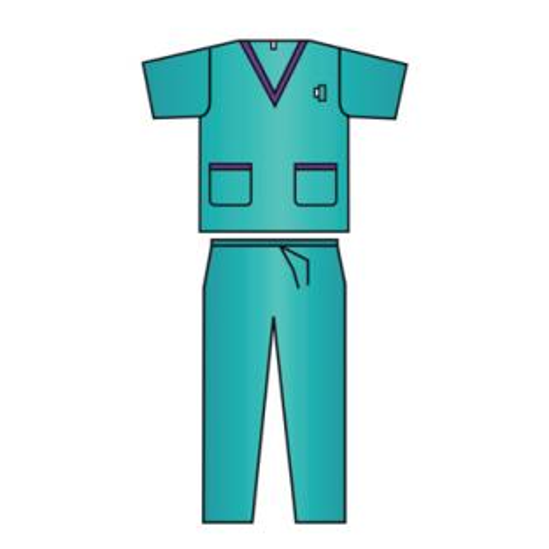 Pigiama chirurgico Comfort in SMS monouso (50 unità) TAGLIA S Img: 202004041