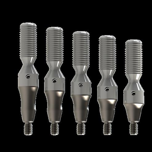 Impianti miniconic abutment con connessione interna da 4,0 e 5,0 mm - 2,0mm Img: 201907271