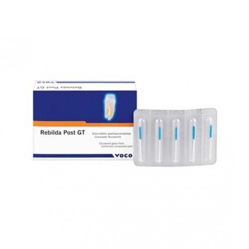 Perni dentali Fibra di Vetro - Rebilda Post GT Ricambio (5u) N4 0,8mm (5u) 1973 Img: 202010101