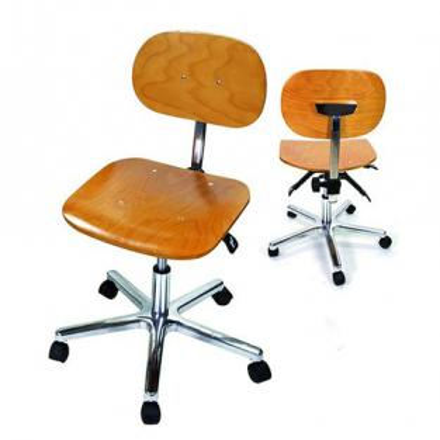 Sedia da lavoro con schienale Img: 202003141
