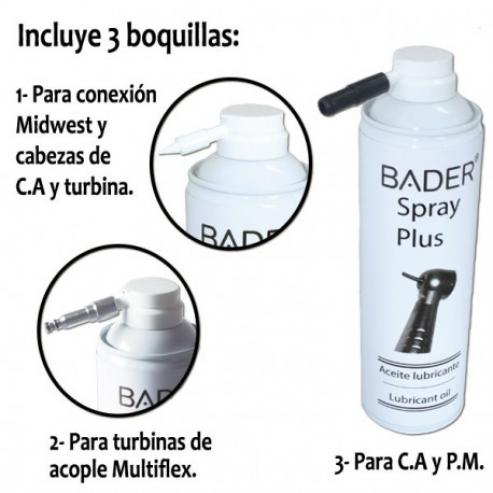 Spray lubrificante 500 ml. con 3 ugelli Img: 201809011