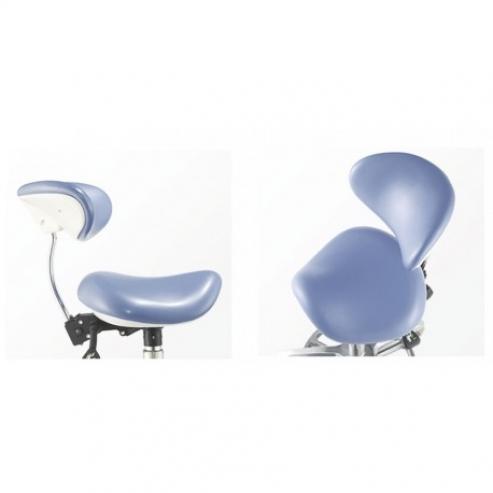 Stool Chair Sgabello Clinico Dentista c/ Schienale Img: 201809011