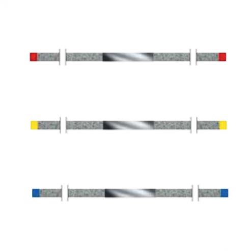 LUCIDATURA STRISCE KOMET DS25F.0. ZENIT diamanti 10 pz Img: 201811031