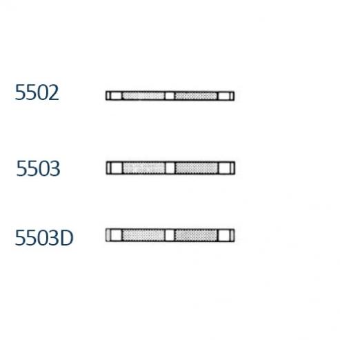 Strisce di spogliatura unilaterale (50ud) - 2mm con aperture Img: 201907271