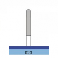 Fresa in metallo duro HP Laboratory C02314S tipo S (1 pz.) Img: 201811031