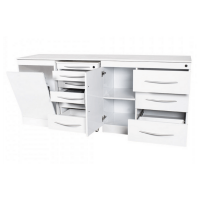 Set di mobili quadrupli con Push On senza lavandiino Img: 202103201