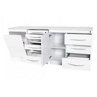 Set di mobili quadrupli con maniglie senza lLavandino Img: 202103201