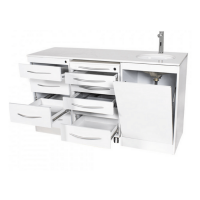 Set di mobili tripli con Push On con lavabo - Destro: Img: 202103201