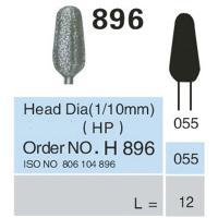 frese diamantate HP ISO 896 055 X PK5. Img: 201807031