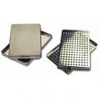 FORATI piastre in acciaio inox (284x184x17mm.) Img: 201807031