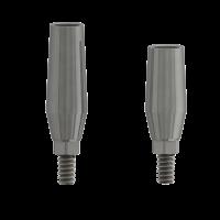Cementazione del Moncone Singolo Incollaggio degli impianti Collegamento interno dell'impianto - Moncone singolo lungo 7mm - Impianto interno Ø 3.5mm Img: 201907271