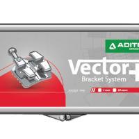 "Vettore - Bracket metallico MBT/Rickets .018"" (10u.)-LR5 con gancio -17°T 0°A 4°OFF. 10 unità Img: 202010171"