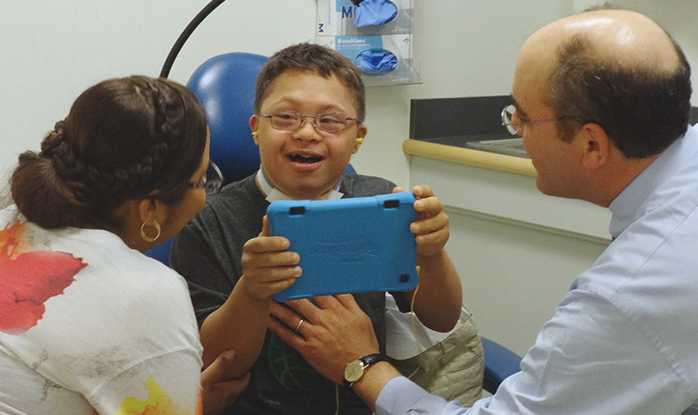 improving relations with down syndrome patients