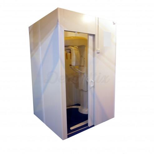 Cabina emplomada para protección radiológica