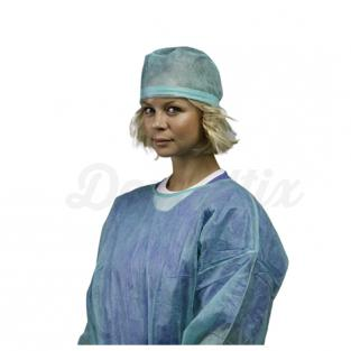 Cofias de Dr. com laço ajustável (100 uds)-VERDE Img: 202010171