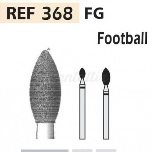 Fresas diamante 368 llama FG turbina (5u.) (368-016 C VERDE) Img: 201807031