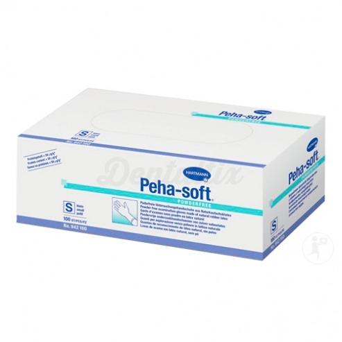 PEHA-SOFT GUANTES LATEX SIN POLVO TALLA S (1 CAJA)